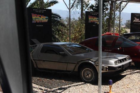 "La DeLorean de ""Retour vers le Futur"" (no 1)"