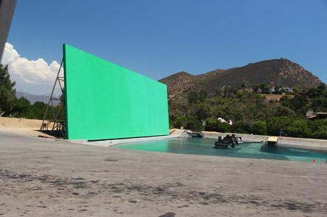 """""""Le plus grand fond vert en extérieur"""". on y aurait tourné nombre de scènes de """"Star Wars"""""""
