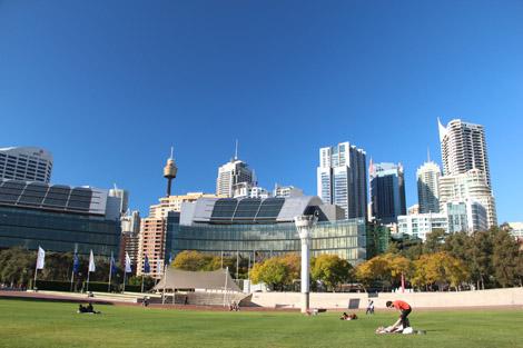 Parc à Sydney
