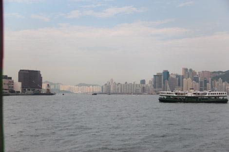 Le Star Ferry dans la baie de Hong Kong