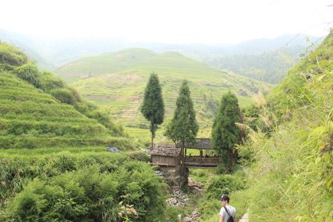 En direction de Tiantouzhai