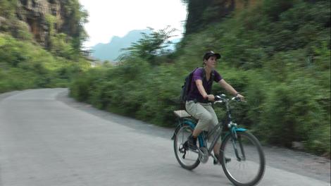 Vélo à Yangshuo