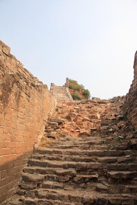 Des escaliers pas toujours en bon état…