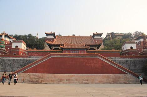 Temple à l'usage de l'empereur