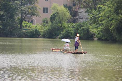 Un bamboo boat (ne vous inquiétez pas, on vous en reparlera plus tard!)