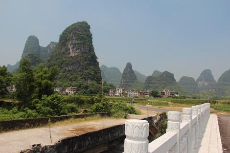 Région de Yanhsuo à vélo