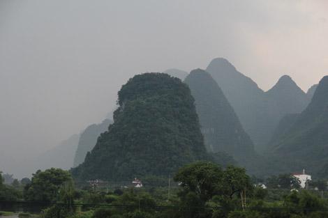 Pics karstiques de Yangshuo