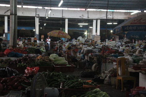 Marché de Yangshuo
