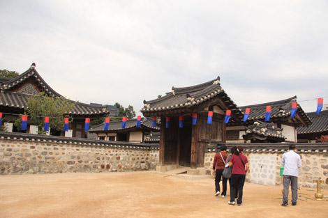 un village Hanok