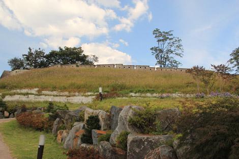 Les anciennes murailles de la ville