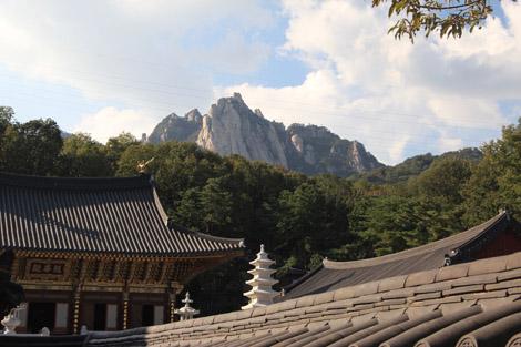Temple et montagne