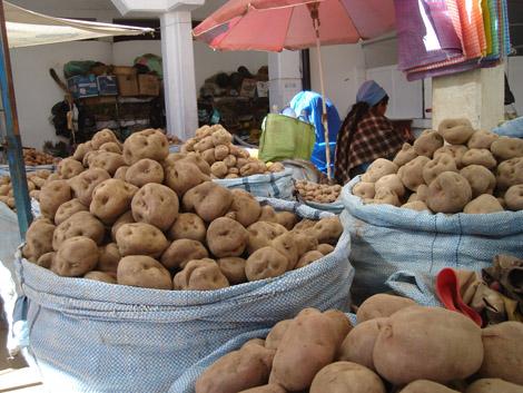 Marché de Sucre Bolivie