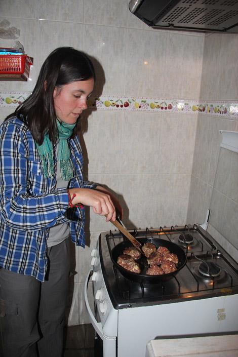 Albondigas boulettes de viande haché, fromage