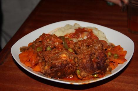 Albondigas, boulette de viande à la bolivienne