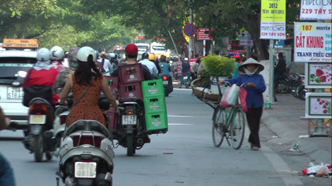Scooter à Hanoï