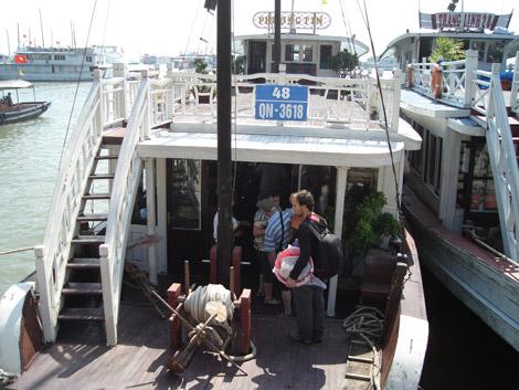 Notre bateau-resto