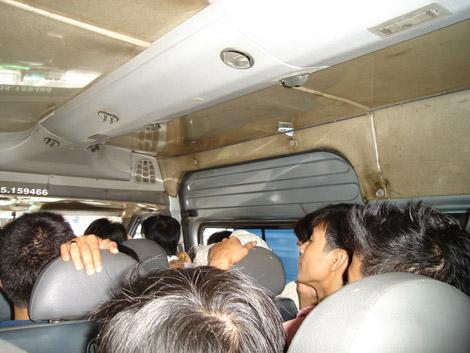 En minibus, qu'est-ce qu'on s'amuse!