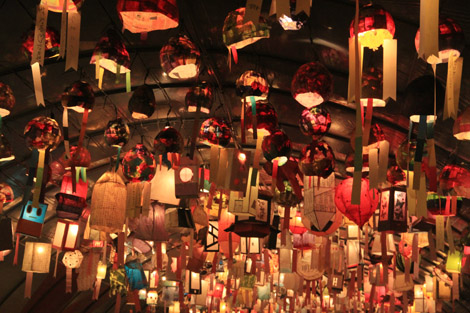 Des lanternes par milliers…