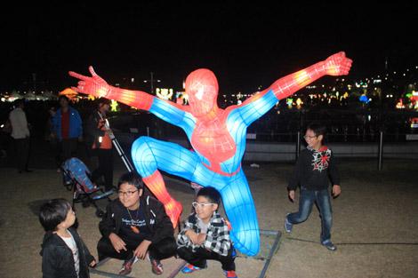 les super-héros ne manquent pas à l'appel