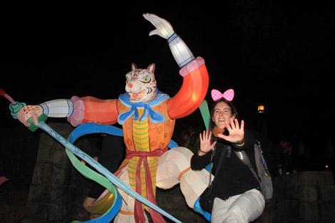 … les signes astrologiques asiatiques aussi : Élodie et le tigre