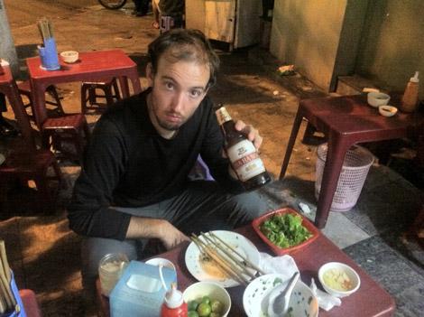 Restaurant de rue Hanoï