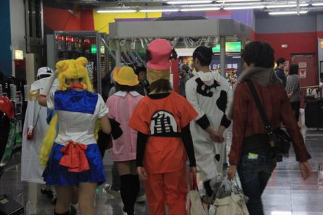 """Ca ne surprend personne de croiser des personnages de """"Dragon Ball"""", """"Sailor Moon"""" ou """"One piece"""" (entre autres) dans des lieux communs…"""