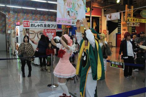 """Répétitions devant la borne d'arcade, oui, mais répétition en costumes de """"Card Captor Sakura"""""""
