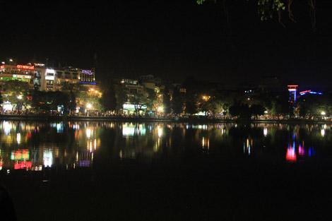 lac Hoan Kiêm de Hanoï