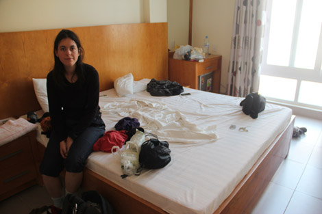 notre chambre…