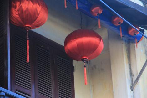 Grande lanterne chinoise