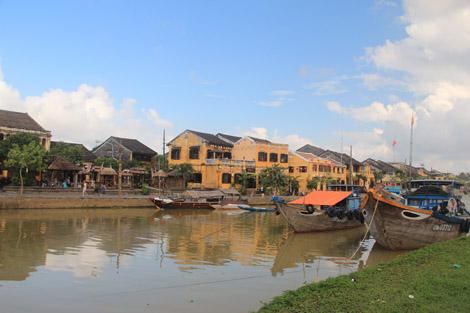 La rivière de Hoi An