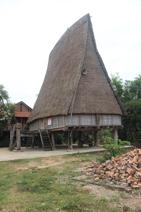 La maison commune du village