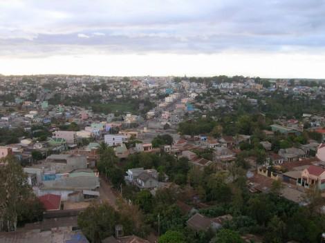 Pleiku (image internet, la ville était tellement triste qu'on a pris aucune photo)