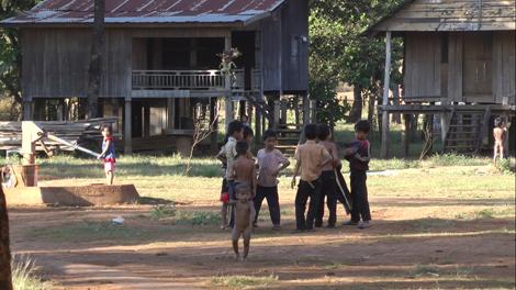 Gamins du Ratanakiri