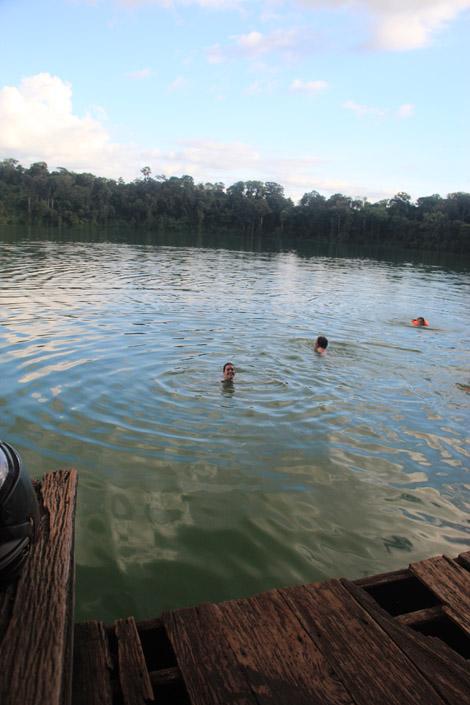 Le lac Yak Loam