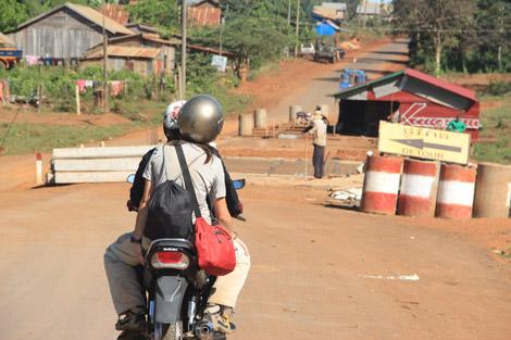 Sur les pistes du Ratanakiri !