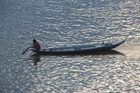 Pêcheur du Mékong