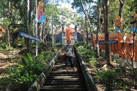 Troisième escaliers