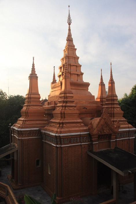 Stupa dorée