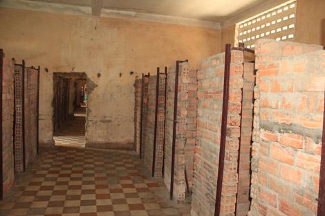 """Les cellules """"de luxe"""" en brique"""