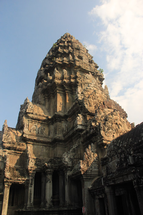 Une tour d'Angkor