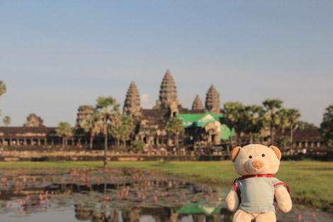 Nestor et Angkor Wat