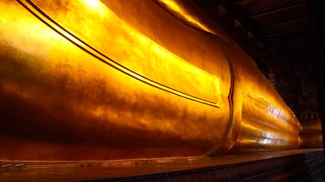 Le bouddha allongé !