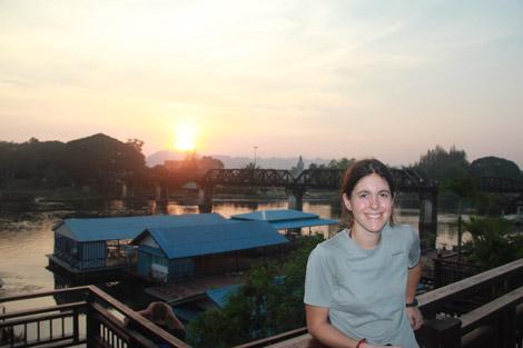 Le célèbre pont de la rivière Kwai !