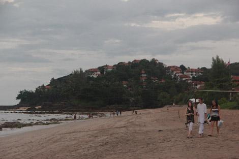 Une des plus grandes plages de Koh Lanta