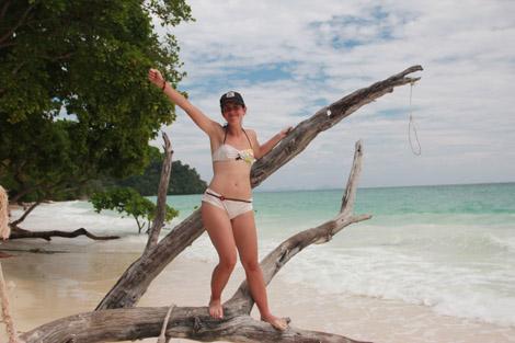 Sur l'île de Koh Rok !