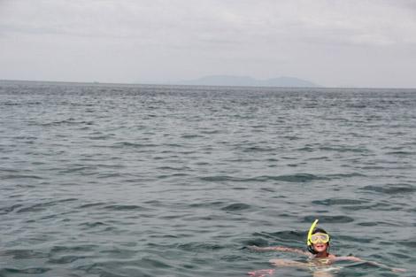 J'ai fait du snorkeling en Thaïlande !