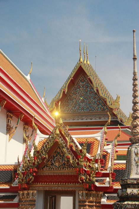 Une pagode du Wat Pho