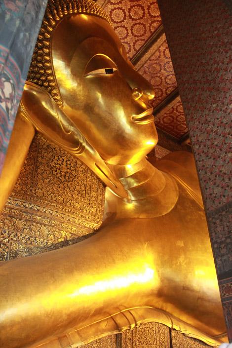 Bouddha allongé du Wat Pho