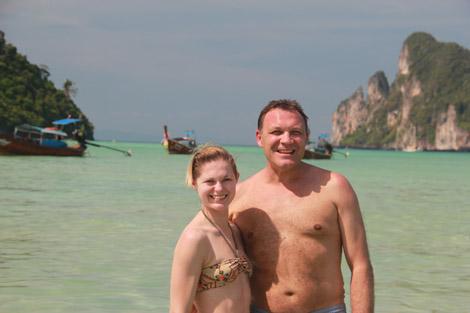 Olivia et Thierry, Phi Phi Island